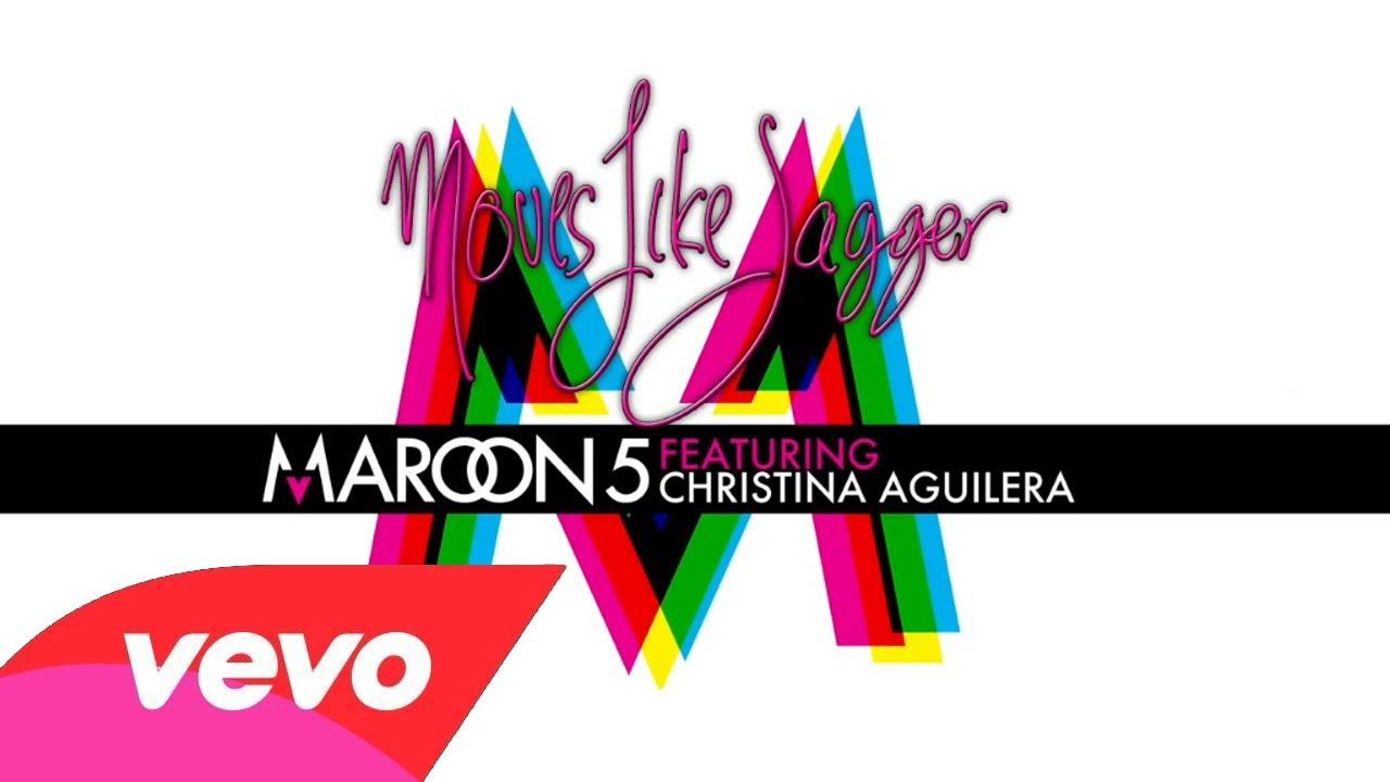 5bb8ffb9a1ba Maroon 5 feat Christina Aguilera - Moves like Jagger (Instrumental   Lyrics)  - YouTube