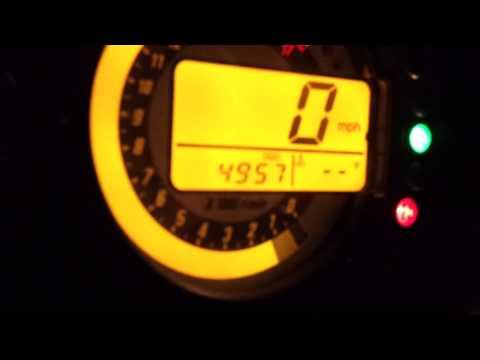 2006 Zx6r FI light help : motorcycles