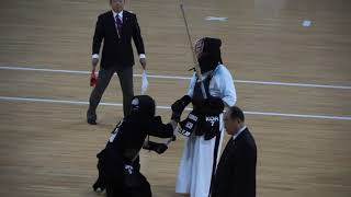 17th World Kendo Championships 2018, Men's Individual Final