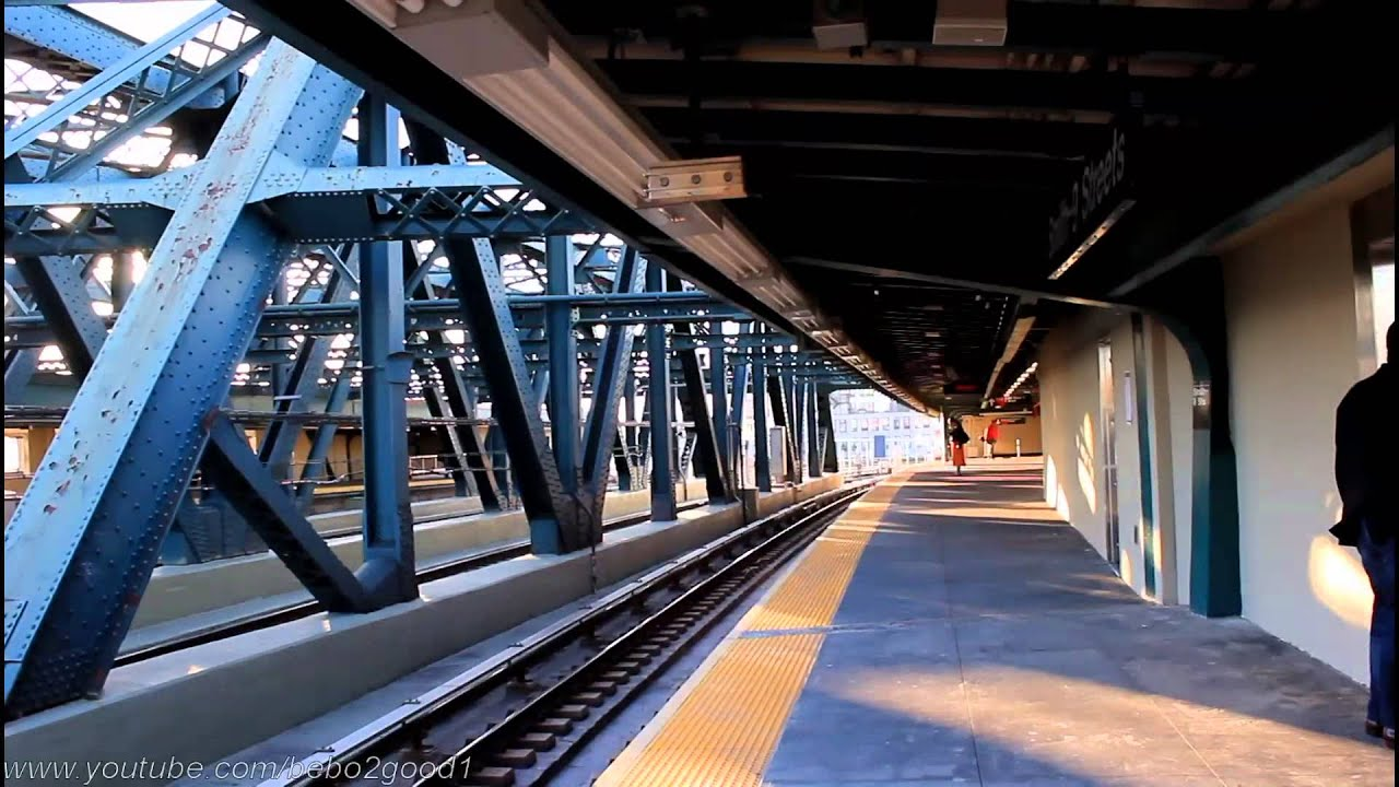 ind subway station tour  re-opened smith    9th street  f   g  station
