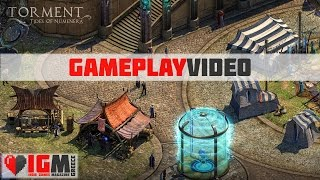 Torment: Tides of Numenera Gameplay Video (first 1hr) // Indie Games Magazine - igmg.gr