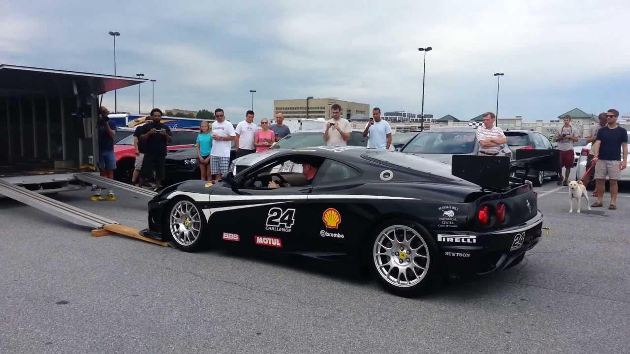 Deafening Sounds of a Ferrari 360 Challenge Race Car - 1080p HD ...