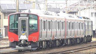 しなの鉄道新型SR1系一般車 S201編成+S202編成 篠ノ井に甲種輸送で到着!2021.1.22 JR篠ノ井駅   panasd 2155