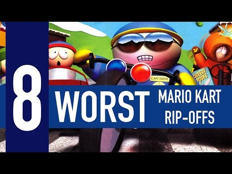 8 worst Mario Kart rip-offs of all time
