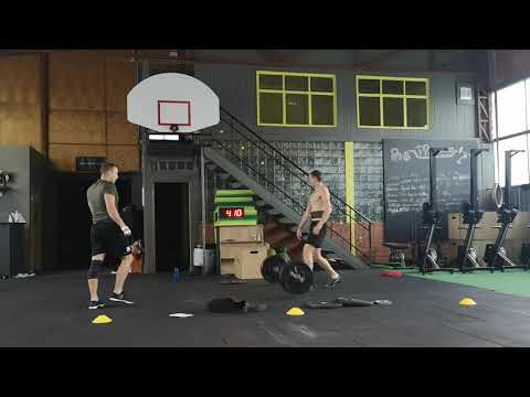 A Team, Online Qualifier Fitness Cup WOD 2