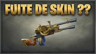 FUITE SKIN WEAPON ??? WARNING NEW ARNAQUE IN VUE - FORTNITE SAUVER THE WORLD