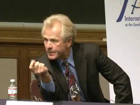 .@fordschool - Peter Navarro & Phil Potter: US-China Relations: Cooperation or Conflict?