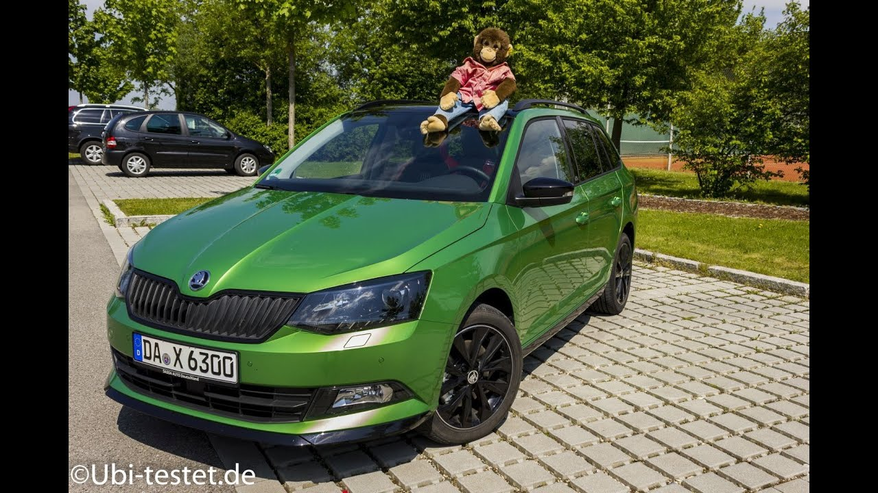 skoda fabia combi 1 2tsi monte carlo 2016 pov ubitestet youtube. Black Bedroom Furniture Sets. Home Design Ideas