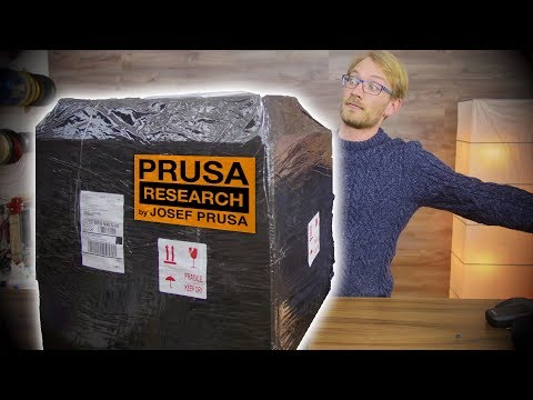 🔴 Mystery package from Prusa (I have a hunch: Multi-Material Upgrade)!
