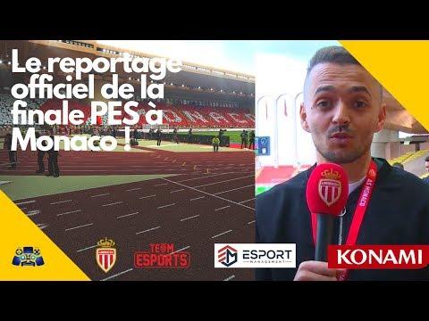 PES 2019 : Le reportage officiel de la finale de l'Open PES Cup par l'AS Monaco !