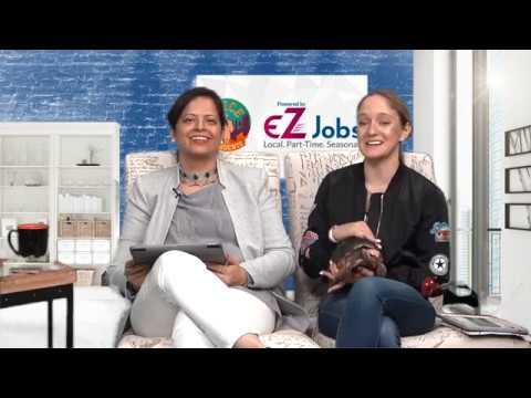 SAVE A SPECIES: Red Feet Tortoise #EZJobs talkshow on VOS with Jyoti Vazirani