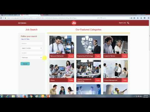 How to Apply for Reliance Jio Jobs |  Find Unlimited Best Jobs in Jio