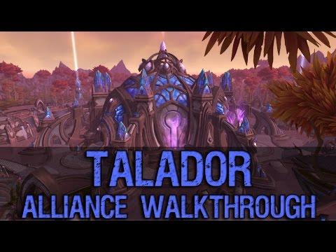 Talador Alliance Walkthrough - Warlords of Draenor