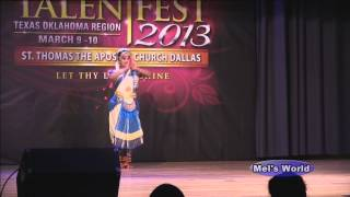 Indian Classical Dance by Melissa Mathew - Aananda Nayakane - IPTF 2013