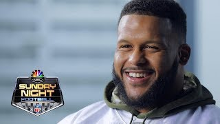 Aaron Donald on breaking the NFL sack record | NFL | NBC Sports