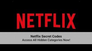 Netflix Secret Codes | Tricks & Tips