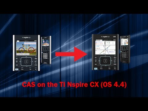 [TI-Nspire CX]Installing the CAS OS to the Nspire CX with ControlX