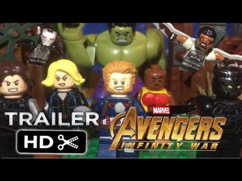 Avengers : Infinity War Official Trailer IN LEGO