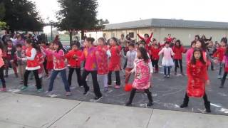 chinese new year 2017 flash mob dance brookvale elementary