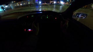 1991 Toyota Camry 2.0L (140hp) 1VZ-FE Night POV Test Drive