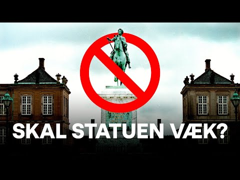 Hvad skal der ske med de danske statuer?