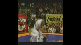 The introduction video of the Hungarian IKO1 kyokushin fighter, Dan...