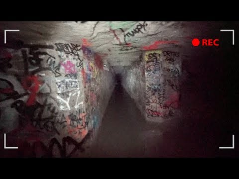 LOST AND ALONE IN THE PARIS CATACOMBS