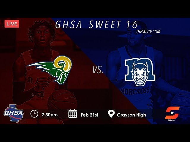 GHSA Sweet 16: Grayson vs. Norcross