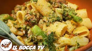 337 - Maccheroni broccoli e salsiccia...come accendere una miccia! (primo piatto di terra facile)