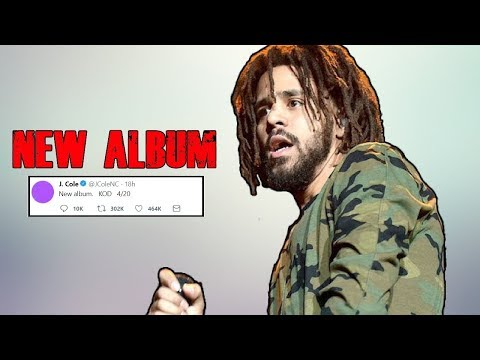 J Cole - KOD New Album SOON!