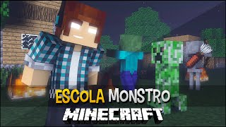 Minecraft Escola Monstro #14 - Como Destruir Casas !!  Monster School