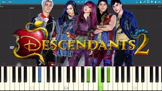 Chillin 39 Like A Villain Piano Tutorial - Descendants 2 OST.mp3