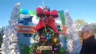 Disney Springs Christmas Tree Trail 2017 Walkthrough | GoPro Hero 5