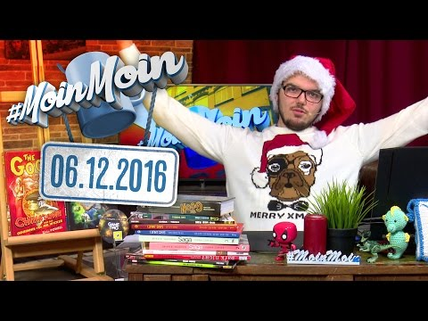 #MoinMoin mit Alwin | Nikolaus, Comics: The Goon, Giant Days, Vision, Dark Night, Saga | 06.12.2016