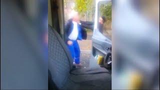 Нападение на водителя скорой помощи в Алма-Ате попало на видео