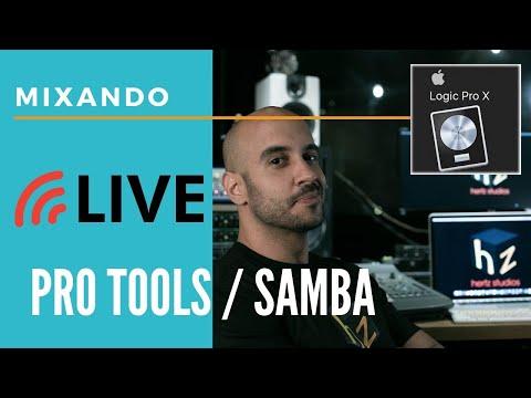 Live #Mixagem ao Vivo EP 3 Pro Tools + #Samba / #Pagode