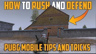 How to Rush and Defend House in Pubg Mobile