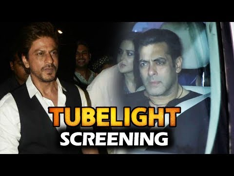 Thumbnail: Salman Khan And Shahrukh Khan At Tubelight Movie Screening