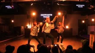 曲がり角曲ガリ隊 HOT PANTS vol.42 DANCESHOWCASE