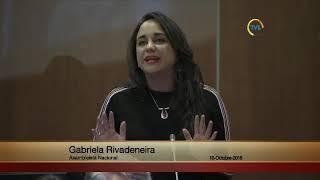 Gabriela Rivadeneira - Sesión 539 -  #JulianAssange