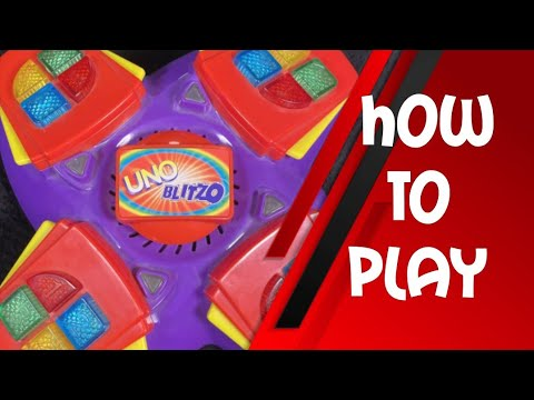 How To Play Uno Blitzo Youtube