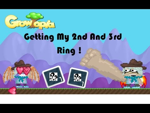 GrowTopia   Getting My 2nd & 3rd Ring !