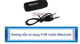 Hướng dẫn sử dụng USB Audio Bluetooth