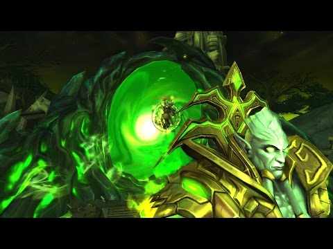 Warlords of Draenor Legendary Quest Part 16 : Archimonde Fight / Darkness Incarnate