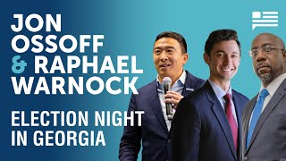 Will Mitch keep his job? Warnock and Ossoff talk the runoff. | Andrew Yang | Yang Speaks
