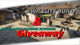 AK-47 Aquamarine Revenge & AWP Elite Build GIVEAWAY!
