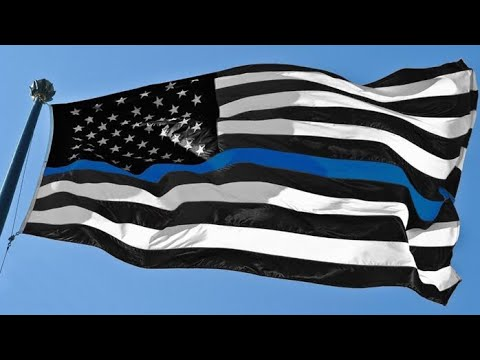 The Black White And Blue Flag?
