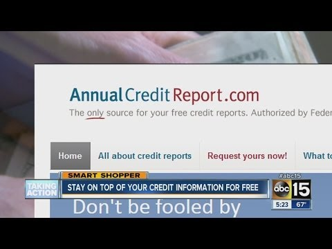 Websites offer FREE credit reports, scores