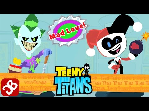 TEENY TITANS SUICIDE SQUAD - JOKER AND HARLEY QUINN - iOS / Android - MAD LOVE GAMEPLAY VIDEO
