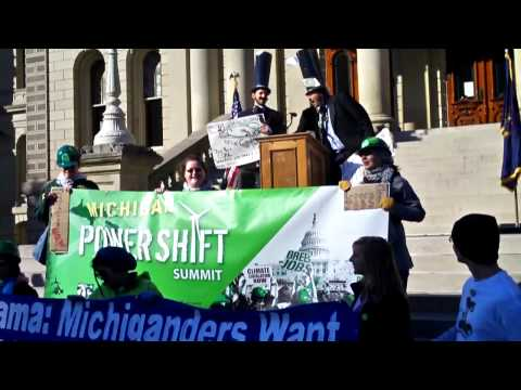 Coal Barons from ACCCE protest Powershift09 in Lansing